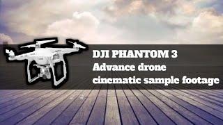 DJI PHANTOM 3 advance drone cinematic sample footage from sunken bilivid muntinlupa phil.