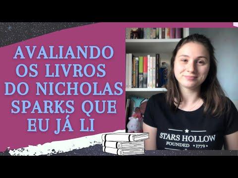 AVALIANDO OS LIVROS DO NICHOLAS SPARKS QUE EU JÁ LI