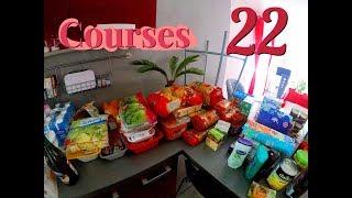 *HAUL Courses 22* - 2 Semaines De Courses Et De Menu ! Leclerc Drive Et Beaucoup De BIO !