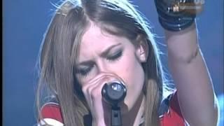 Avril Lavigne - Sk8r Boi (live on Nickeoledeon)