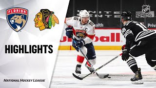 Panthers @ Blackhawks 5/1/21 | NHL Highlights