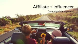 Driving Revenue with Affiliate + Influencer Marketing