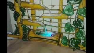 preview picture of video 'Fonte de Bamboo para parede'