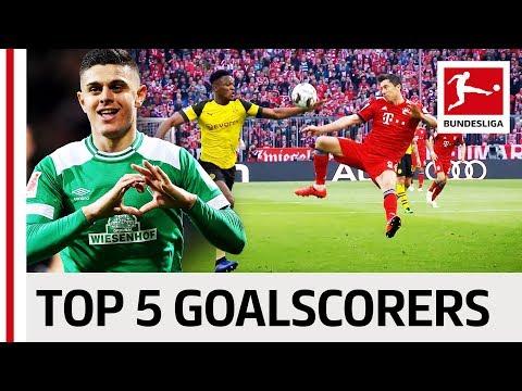 Top 5 Strikers 2019 so far - Best Goals of Lewandowski, Kramaric & Co.