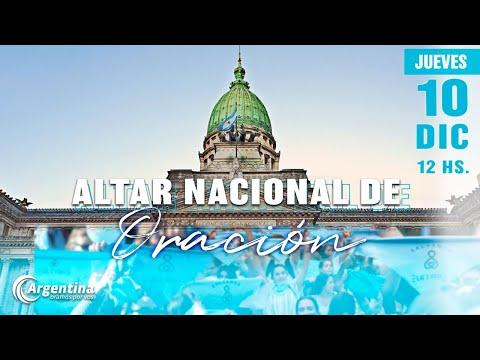 Altar Nacional de Oración | Jueves 10 de diciembre 2020