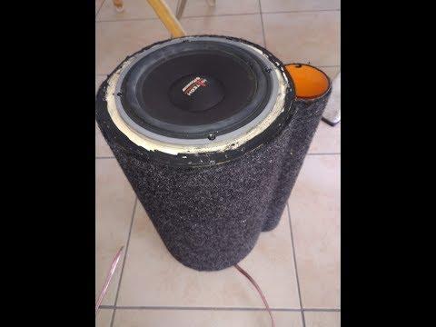 [Tutorial]Come costruire speaker woofer da 13cm/16cm con tubo in pvc pt1