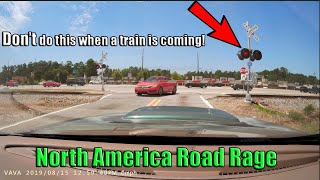 Road Rage USA & Canada | Bad Drivers, Fails, Crashes Caught on Dashcam in North America 2019 #4