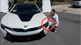 UPDATE ON MY CRASHED BMW i8