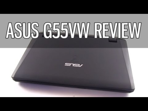 Asus G55VW review - Asus G55 gaming laptop tested