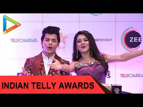 Siddharth Nigam, Avneet Kaur, Mohit Raina & others at Indian Television Awards 2019