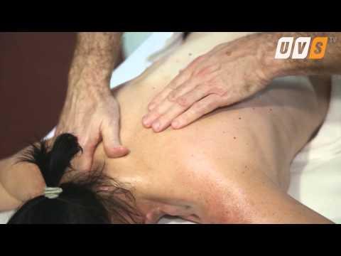 Das Dehnen der Bänder der Brustwirbelsäule