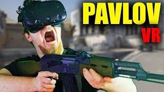 Gun Game vo VR (HTC VIVE) w/ Selassie