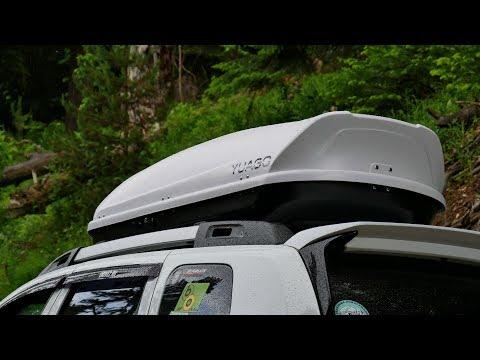 Автобокс на крышу. Испытание бездорожьем. Обзор и тест-драйв бокса Yuago Avatar