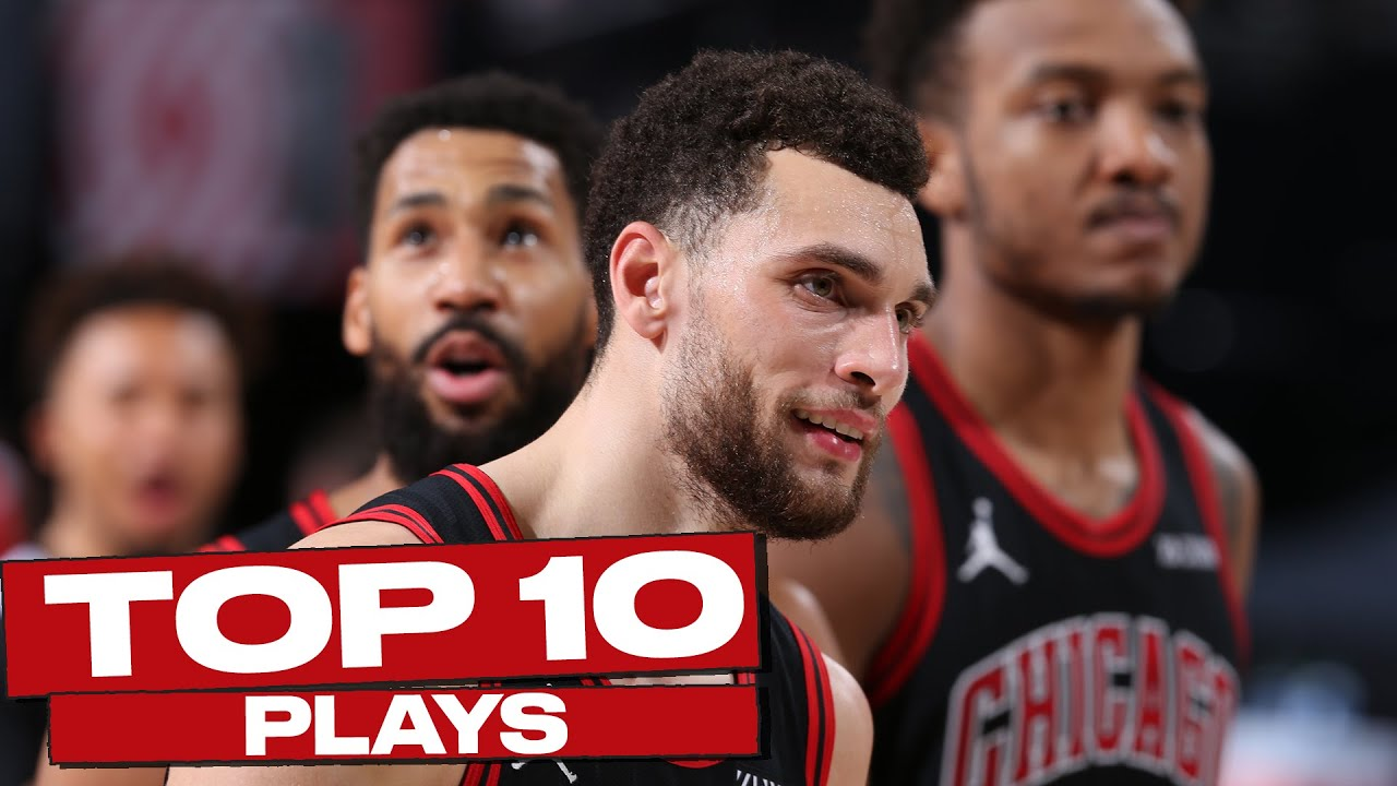Top 10 Chicago Bulls Plays of The Year! 🔥
