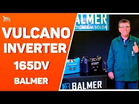 Maquina de Solda Vulcano Inverter para Eletrodo Revestido e TIG 110/220V - Video