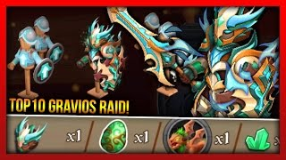 Knights and Dragons - GRAVIOS RAID RECAP + Valhallan Crusader T10 Armor Power Leveling!