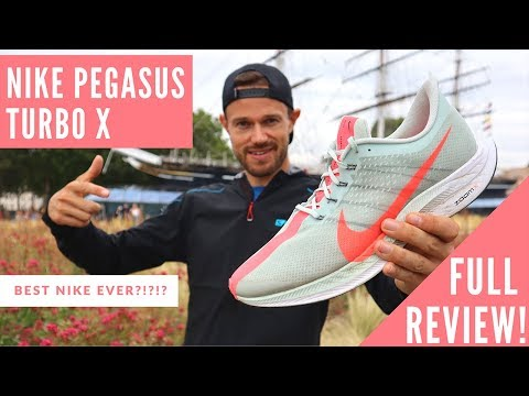 NIKE ZOOM PEGASUS TURBO X – FULL REVIEW – Best Nike Shoe Ever?!?!