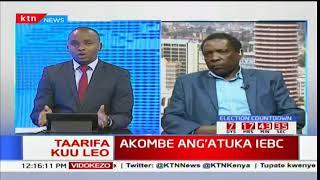 Prof. Herman Manyora azungumzia hali ya tume ya IEBC baada ya Akombe kujiuzulu