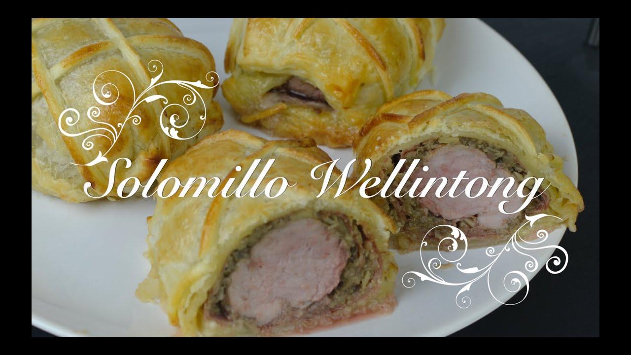 Solomillo Wellington al horno   Solomillo Wellington   Solomillo al Horno por chef de mi casa.com