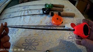 Самодельные удочки для зимней рыбалки на окуня
