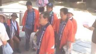神戸鹿児島県人会「南の風」歴史探訪と清掃活動