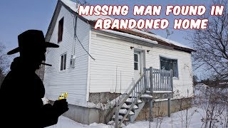 Exploring Abandoned Home! Missing Mans Body Found Inside!