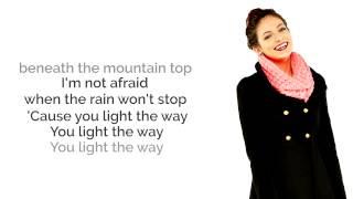 Flashlight  - Bethany Mota Lyrics - Jessie J Cover / Pitch Perfect 2