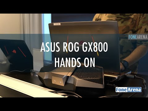 Asus ROG GX800 Hands On