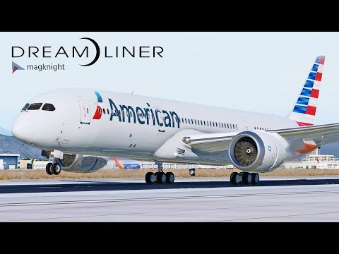 Boeing 787-9 Dreamliner by Magknight | X-Plane 11 | Jeff Favignano