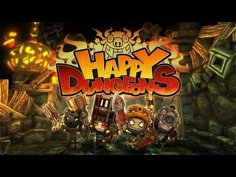 Happy Dungeons Launch Trailer (ESRB) thumbnail