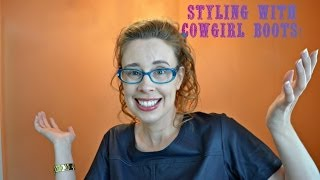 Styling Different Outfits With Cowgirl Boots!