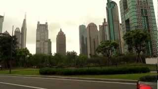 preview picture of video 'Shanghai Pudong area , China'