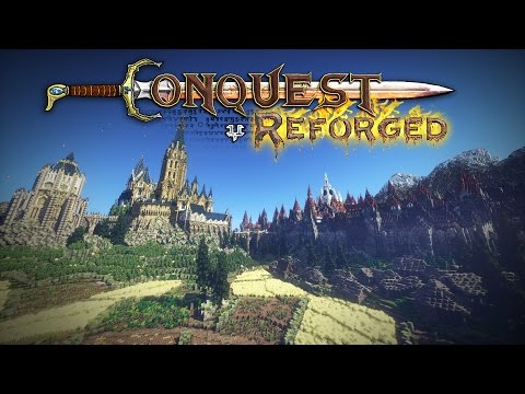 Conquest Reforged - Over 6000 new blocks, 3D models, Survival, and