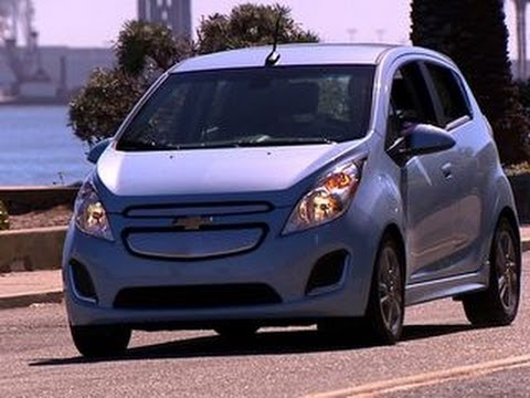 Car Tech – 2014 Chevy Spark EV packs a punch