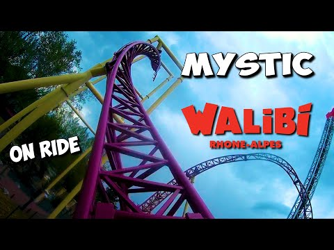 MYSTIC WALIBI RHONE ALPES Nouvelle attraction 2019 (on ride)