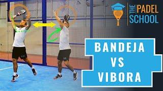 Skillnad mellan Vibora och Bandeja