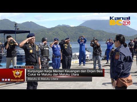 Kunjungan Kerja Menteri Keuangan dan Dirjen Bea Cukai ke Maluku dan Maluku Utara