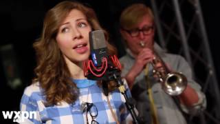 "Lake Street Dive - ""Walking on Broken Glass"" - WXPN Performance Studio"