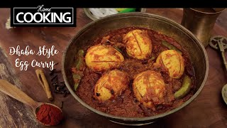 Dhaba Style Egg Curry | Egg Curry Recipes | Anda Curry | Side Dish For Chapati & Roti
