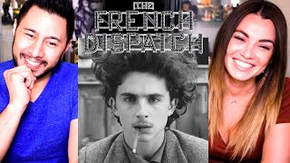 THE FRENCH DISPATCH | Timothée Chalamet | Saoirse Ronan | Elisabeth Moss | Trailer Reaction