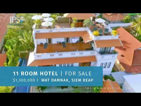 11 Room Hotel / Villa For Sale - Wat Damnak, Siem Reap  thumbnail