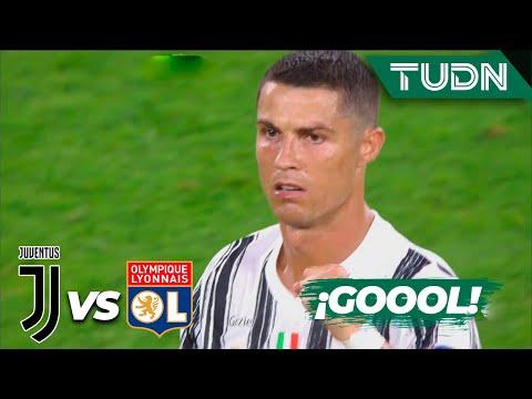 ¡GOLAZO! Cristiano marca doblete | Juventus 0-0 Lyon | Champions League 2020 – Octavos final | TUDN