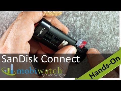 USB-Stick mit WLAN: SanDisk Connect Wireless Flash Drive