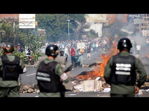 Βενεζουέλα: «Κάτω η δικτατορία» φωνάζουν οι αντίπαλοι του Μαδούρο