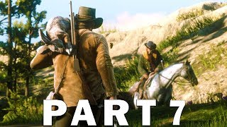 Red Dead Redemption 2 Gameplay Part 7 - Bounty Hunting, Horse Wrangling & More [RDR2] PS4 Pro
