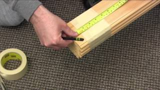 Cutting an Echo or Marquis Folding Door (Without Hinge Screws)