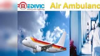Air Ambulance from Nagpur and Bagdogra by Medivic Aviation