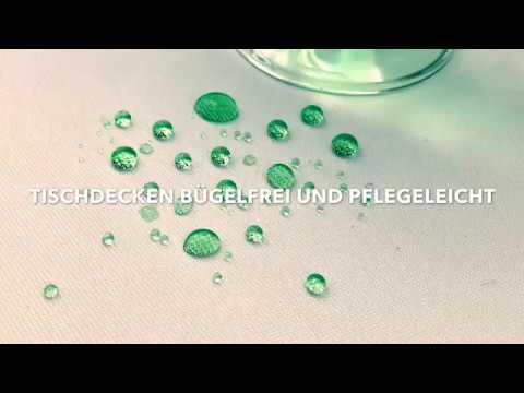 Bügelfreie Tischdecken mit Lotus-Effekt: schmutzabweisend und pflegeleicht: Tischdecken-Shop LIBUSCH