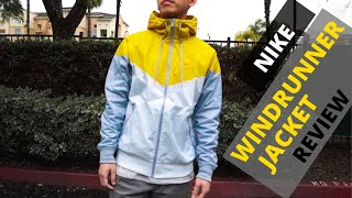 Nike Windrunner Windbreaker Jacket - University Gold / Yellow - My Thoughts, Review, Outfit