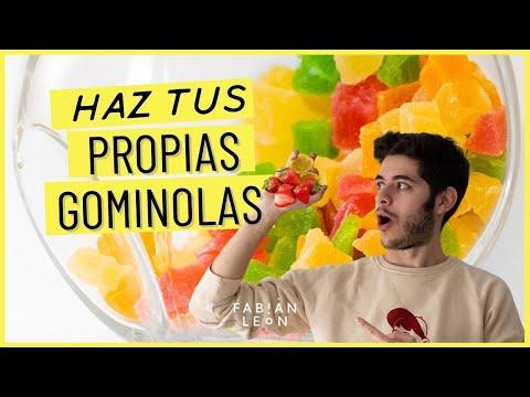 Gominola Caseras Con Zumo De Fruta Natural
